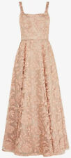 Coast Lace Maxi Dress Gown Size 16 Champagne Bridesmaid Party Christmas RRP £250