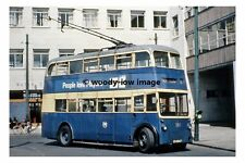 pt8579 - South Shields Trolleybus 260 , CU 4947 in Town Centre - photograph 6x4
