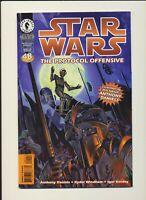 STAR WARS THE PROTOCOL OFFENSIVE #1 Dark Horse Comics 1997! RARE BOOK! WOW!