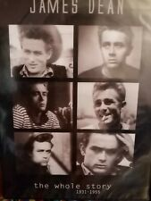 James Dean ⭐ The Whole Story DVD Documentary Movie Star ⭐Hollywood icon, Rebel