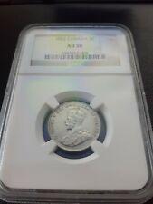 1922 Canada 5 Cents NGC AU 58