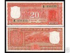 INDIA 20 RUPEES P61 a 1970 INCORRECT URDU UNC INDIAN MONEY PARLIAMENT BANK NOTE