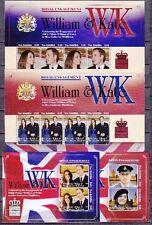 Gambia 2011 Verlobung Engagement William & Kate 2 Blocks und 2 Kleinbogen **