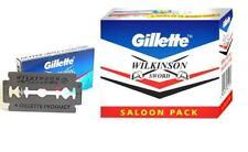 Gillette Wilkinson Sword Double Edge Blade Safety Shaving Steel Razor 55 Blades