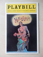 February 1994 - Mitzi E. Newhouse Theatre Playbill - Hello Again - Judy Blazer