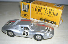 "VINTAGE Slot Car - Jouef Slot Car 55801 PORSCHE GT - ""near mint Box"" 60er Jahre"