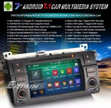 "AUTORADIO 7"" Bmw Android 7.1 SERIE 3 e46 M3 Dvd Sd Navigatore gps quad core 1gb"
