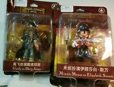 Disney Pirates of the Caribbean Goofy -Davy Jones Minnie Mouse - Elizabeth Swann