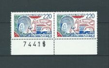FRANCE - 1988 YT 2556 paire - TIMBRES NEUFS** MNH LUXE