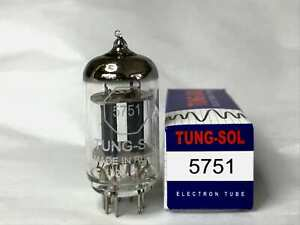 Tung Sol 5751 Top Quality lower gain pre-amp valve