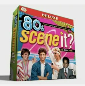80s Scene It? Deluxe Edition - The DVD Game (2009) New & Sealed