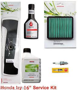 Chuancheng Air Filter /& Spark Plug Service Kit for Various Honda IZY HRX Lawn Mower
