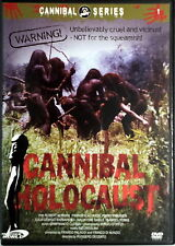 CANNIBAL HOLOCAUST totally uncut - Deodato DVD Barbareschi Ciardi