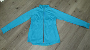 WOMEN UNDER ARMOUR SEMI FITTED LIGHT WIEGHT JACKET LARGE EUC