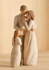Willow Tree Mother & Father with Baby & Daughter Figurine Gift Set   23096