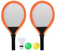 Sports 2 Player Badminton Racket Set Shuttlecocks & Rackets Outdoor Racquet Kit