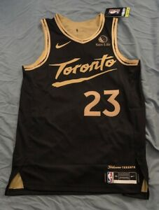 BNWT Fred VanVleet Authentic Toronto Raptors City OVO Drake Jersey size 44