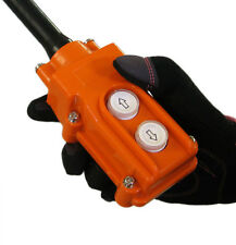 NEW Hoist Crane UP-Down Pushbutton Switch Heavy Duty Rain Proof Push Button 2