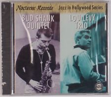 BUD SHANK, LOU LEVY: Nocturne Records, Jazz in Hollywood SEALED CD