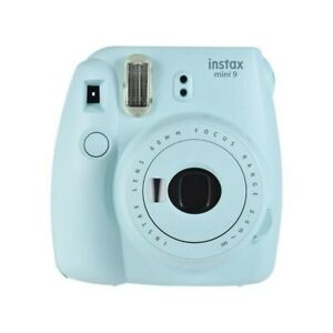 Fujifilm instax mini 9 Appareils Photo Instantanée Argentique - Bleu Glace