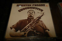 Houston Person LP Chocomotive Cedar Walton Prestige VG+ amazing purple lbl
