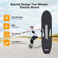 2 Wheel Electric Skateboard 400W Skate Board LED Light Remote Control Waterproof