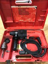 HILTI TE10 HAMMER DRILL corded 450W 240V