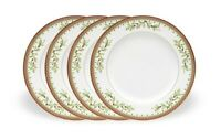 Mikasa Holiday Traditions Salad Lunch Plates - 8 inches - Set of 4 - New in Box