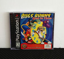 BUGS BUNNY : LOST IN TIME (Tested PlayStation Complete PS1 Game) FREE SHIPPING
