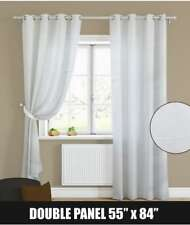 Homedeals Double Panel Curtain Magnolia