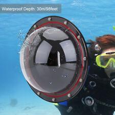 TELESIN Dome Port Underwater Diving Camera Lens Cover for GoPro Hero 4/5 Session