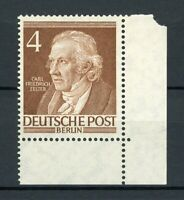 Berlin MiNr. 91 postfrisch MNH Eckrand unten rechts (U174