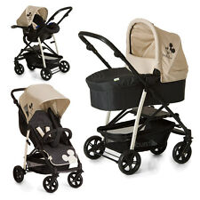 Hauck Kombi Kinderwagen Set 3in1 Rapid 4 Plus Trio Set - Disney Mickey Mouse
