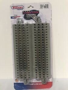 Williams by Bachmann O Gauge E-Z Track 10 Straight O Scale Pack-4