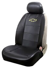 (1) Plasticolor 008586R01 Chevy Bowtie Sideless Seat Cover New Free Shipping USA
