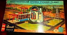 """Reproduction """"Base' Only For: Revell Westinghouse Atomic Power Plant"""