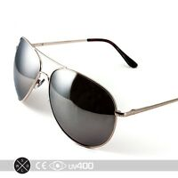 Extra Large Gold Mirrored Oversized Aviator Sunglasses Free Case XL S077
