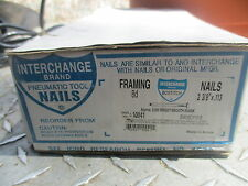 FRAMING NAILER NAILS 2 3/8' X 113 8 D CLIPPED HEAD BOSTITCH N16 N80S N860S N10