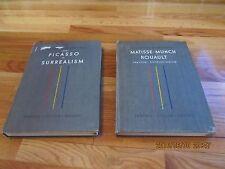 1950 THE HISTORY OF MODERN PAINTING 2/3 ALBERT SKIRA GENEVA Matisse Picasso HC