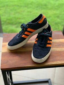 Adidas The Hundreds shoes men size 12 Navy Orange Used