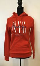 Ladies NYC Hoodie Size XS Red BNWT <SW5548