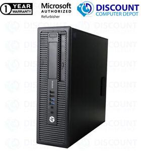 Custom Build HP Quad Core i5   16GB   1TB   SSD   Windows 10 WIFI Desktop PC DVD