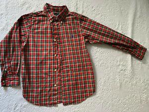 Ralph Lauren Boys Kids Dress Long Sleeve Shirt Size 7