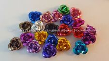 5pcs Random mix Aluminum Rose 3D FLOATING LOCKET CHARMS US SELLER m25