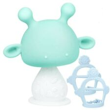 TitaCare Silicone Infant Rattling Mushroom Baby Teether Toys