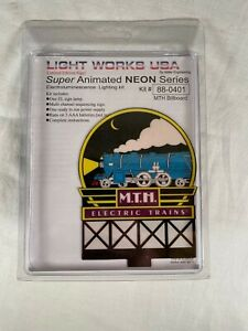 Miller Engineering M.T.H. Light Works # 88-0401 Electric Trains Animated Neon