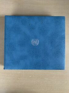 UN Commemorative First Day Cover Collection Album 1976-1979 FULLY ITEMISED