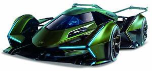 Maisto 1:18 Lamborghini V12 Vision Gran Turismo Diecast Model Racing Car Green