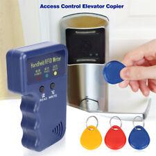 RFID Reader Writer Duplicator Key Card Copier Set Handheld For Hotel w/ 3 Keyfob