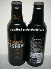 2017 China Budweiser beer BREWMASTER RESERVE aluminium bottle 355ml empty